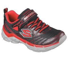 Skechers Boys Rive Red/Black Sneaker