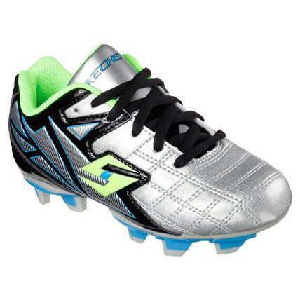 Skechers Boy's Teamsterz Off Sides Silver Black Cleat