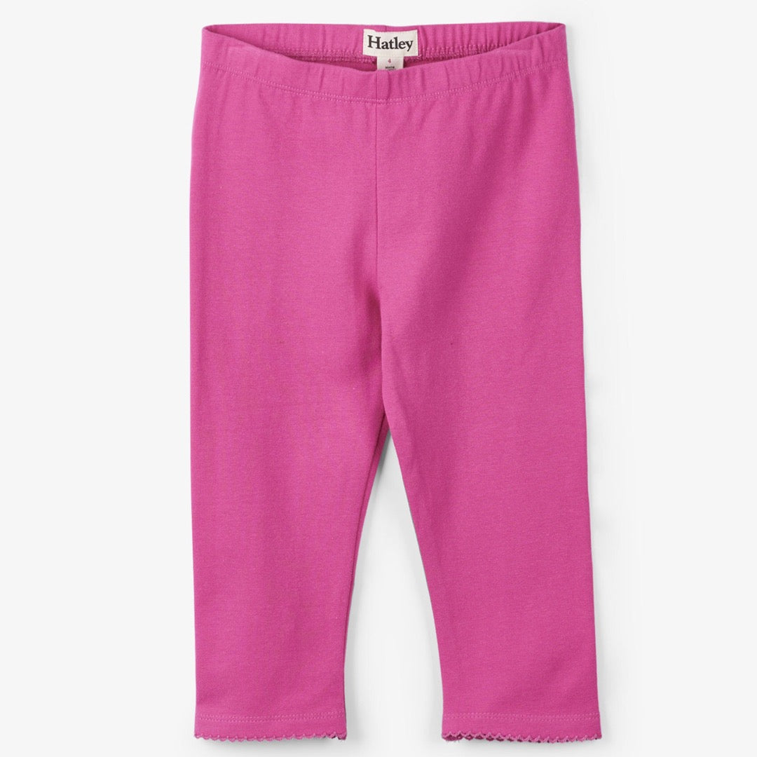 Hatley Hot Pink Capri Leggings