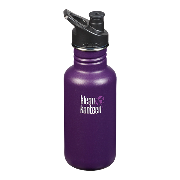 Klean Kanteen 18oz Stainless Steel Classic - Winter Plum