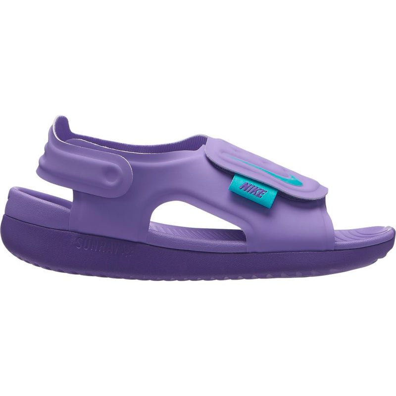 Nike Atomic Violet Sunray Adjust 5 Youth Sandal