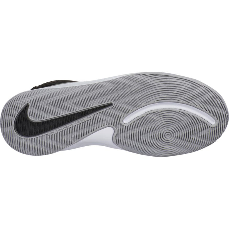 Nike Black/Metallic Silver/Wolf Grey Team Hustle D 9 Children's Sneaker
