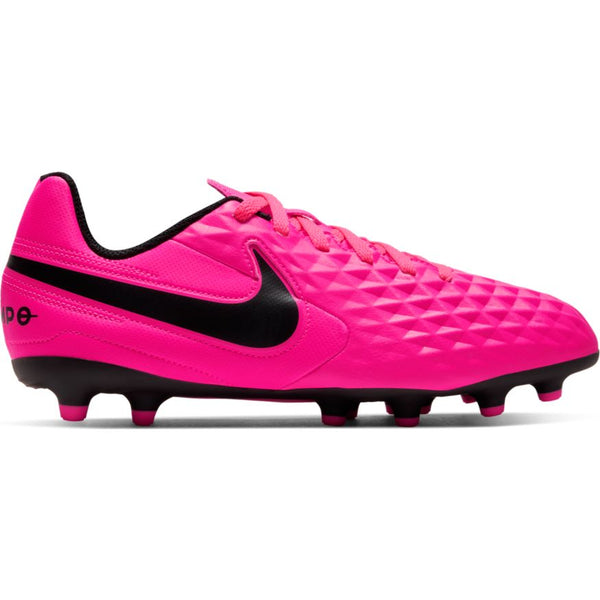 Nike Pink Blast/Black Jr Tiempo Legend 8 Club Cleat