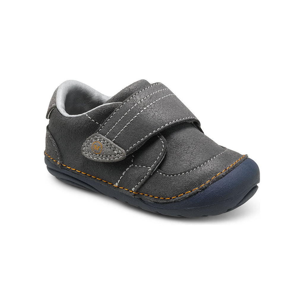 Stride Rite SM Grey Kellen Baby/Toddler Shoe