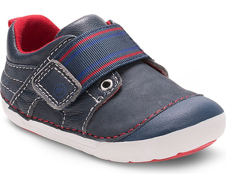 Stride Rite Navy SM Cameron Baby/Toddler Shoe