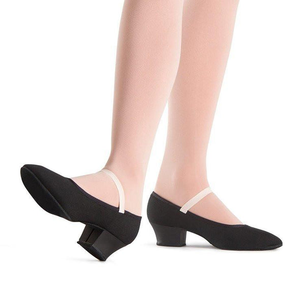 Bloch Black Girls' Karacta Character Shoes