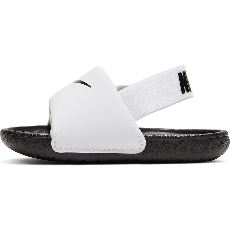 Nike White/Black Kawa Baby/Toddler Sandal