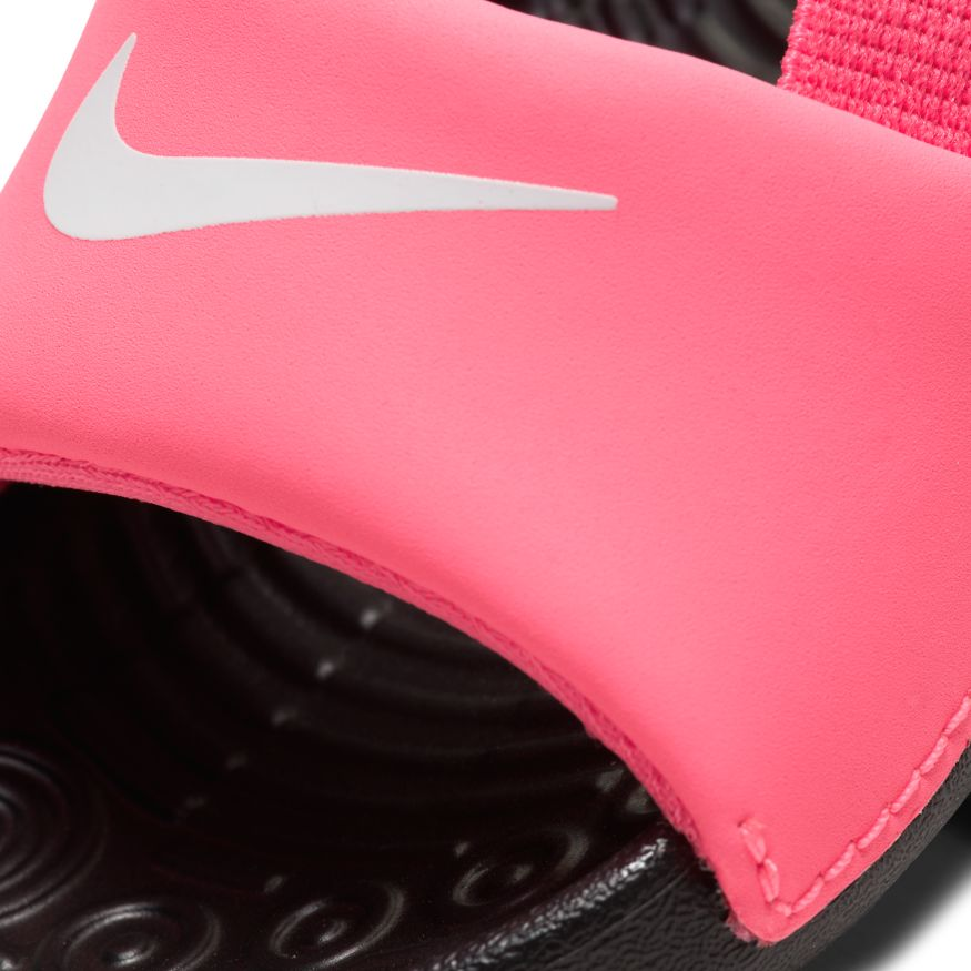 Nike Digital Pink/White Kawa Baby/Toddler Slide