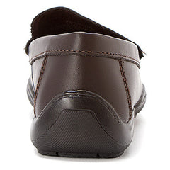 Kenneth Cole Brown Driving Dime Little/Big Kid Shoe