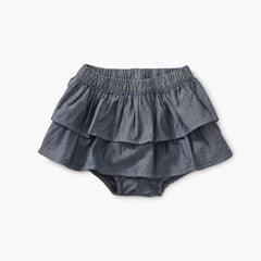 Tea Collection Chambray Ruffle Bloomers
