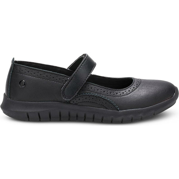 Hush Puppies Black Flote Tricia Mary Jane