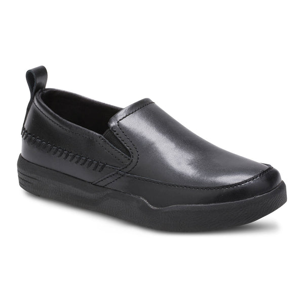 Hush Puppies Black Lazy Genius Shoe