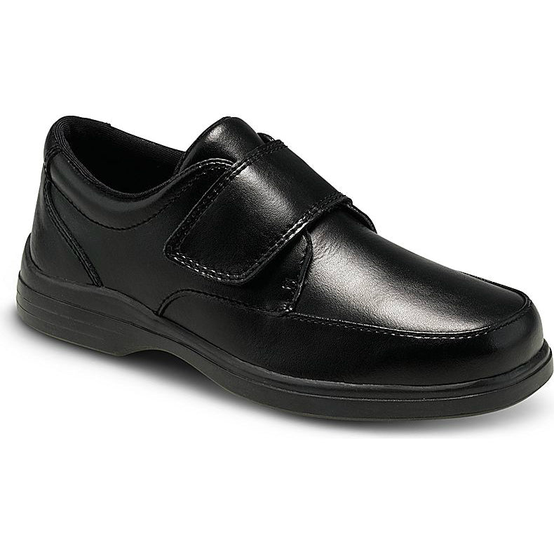 Hush Puppies Black Gavin Youth Shoe