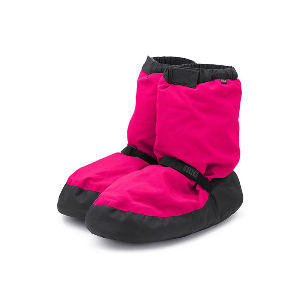 Bloch Children's Fluorescent Pink Warm Up Booties