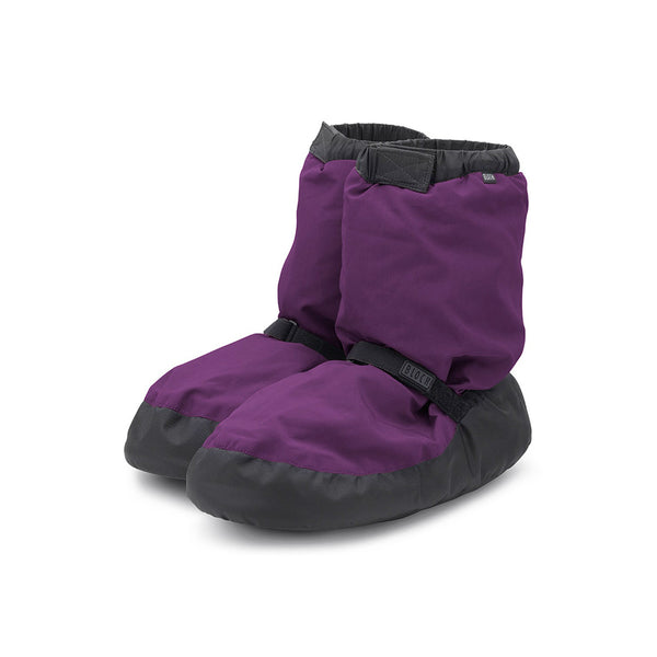 Bloch Women's Purple Warm Up Booties