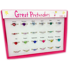 Great Pretenders Birthstone Rings