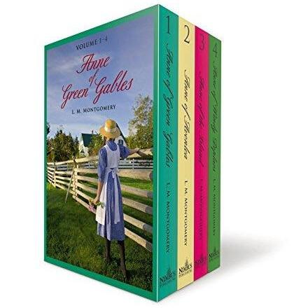 Anne of Green Gables Volumes 1-4