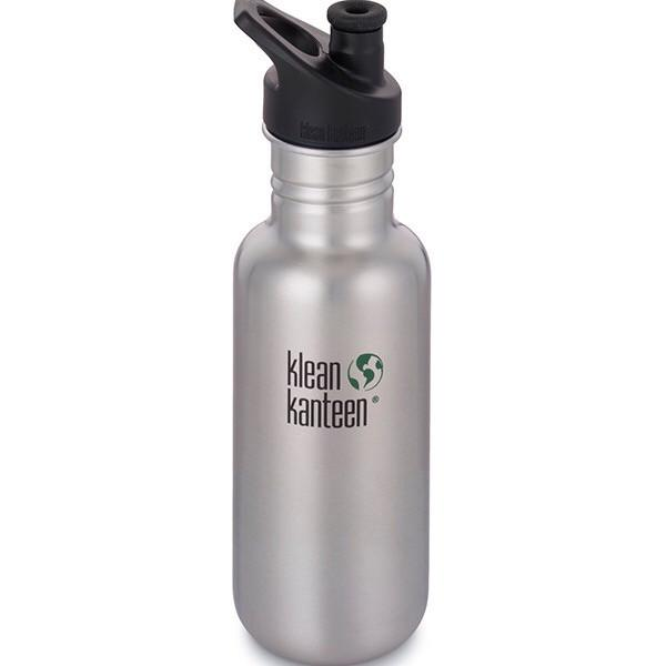 Klean Kanteen 18oz Stainless Steel Classic - Brushed Stainless