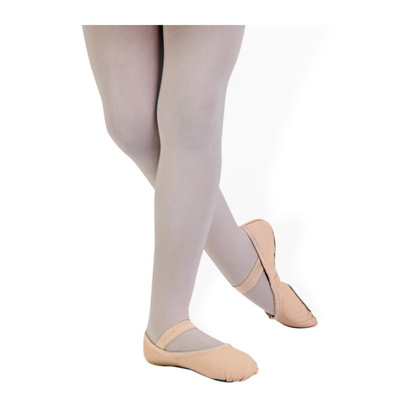 Johnny Brown Adult Pink Demi Pointe Leather Ballet Slipper