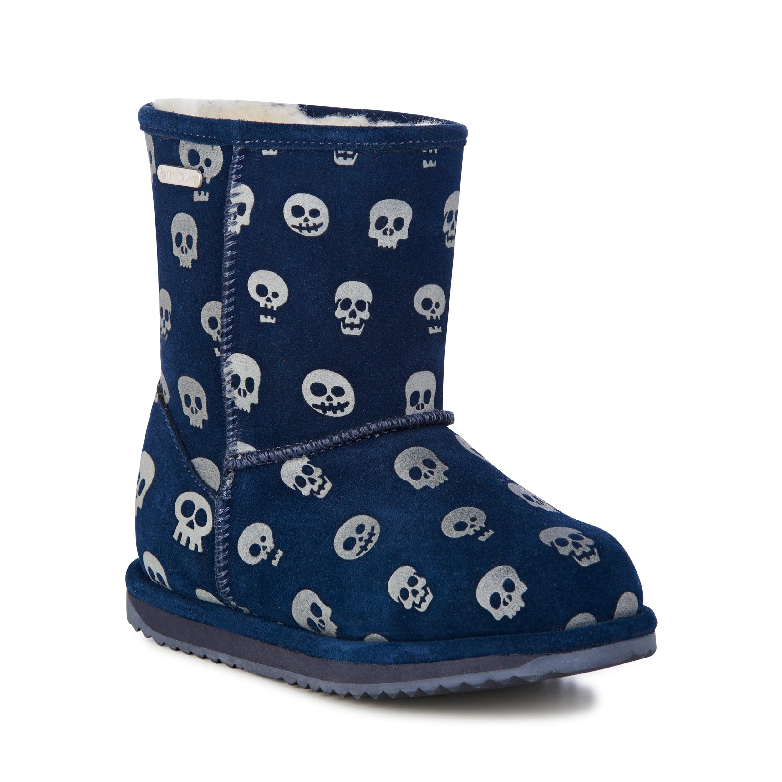 EMU Midnight Skull Brumby Boot