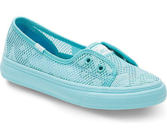 Keds Turquoise Double Up Shortie Slip-On