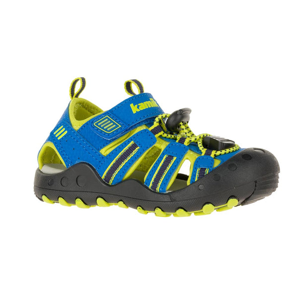 Kamik Blue/Lime Crab Sandal