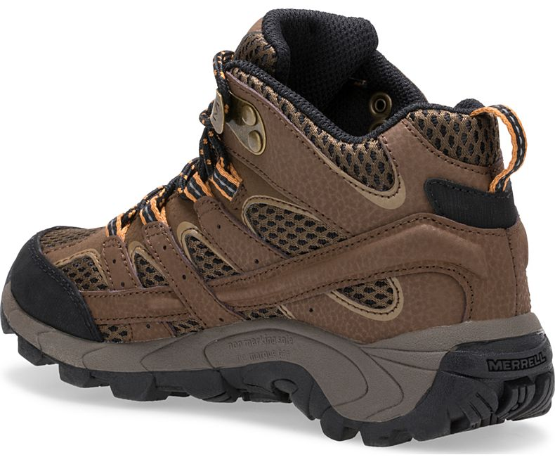 Merrell Earth Moab Mid Waterproof Hiking Boot