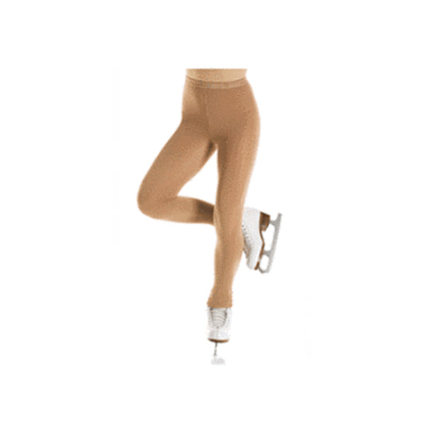 Mondor Bamboo Light Tan Boot Cover Tights