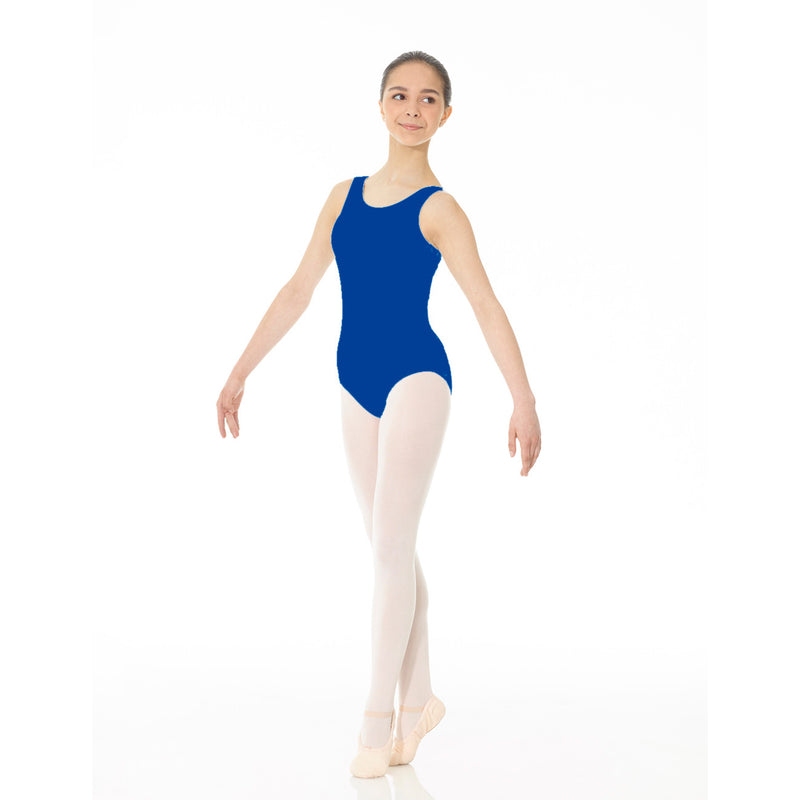 Mondor Essentials Royal Blue Tank Leotard