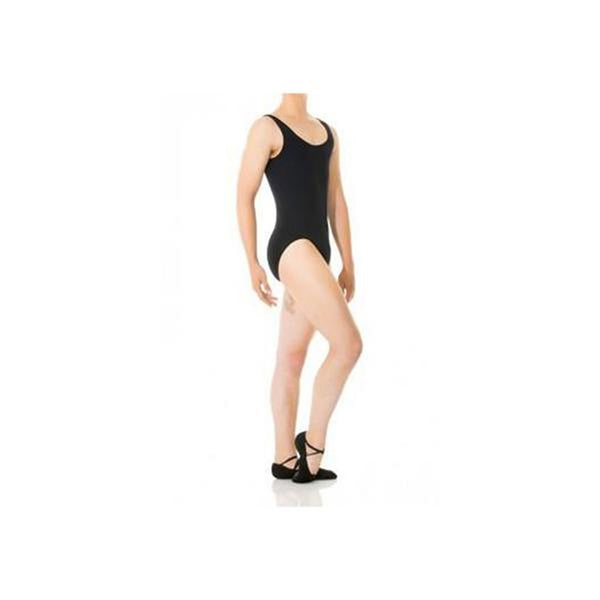 Mondor Men's Black Tank Leotard