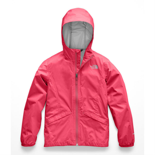 The North Face Atomic Pink Zipline Rain Jacket