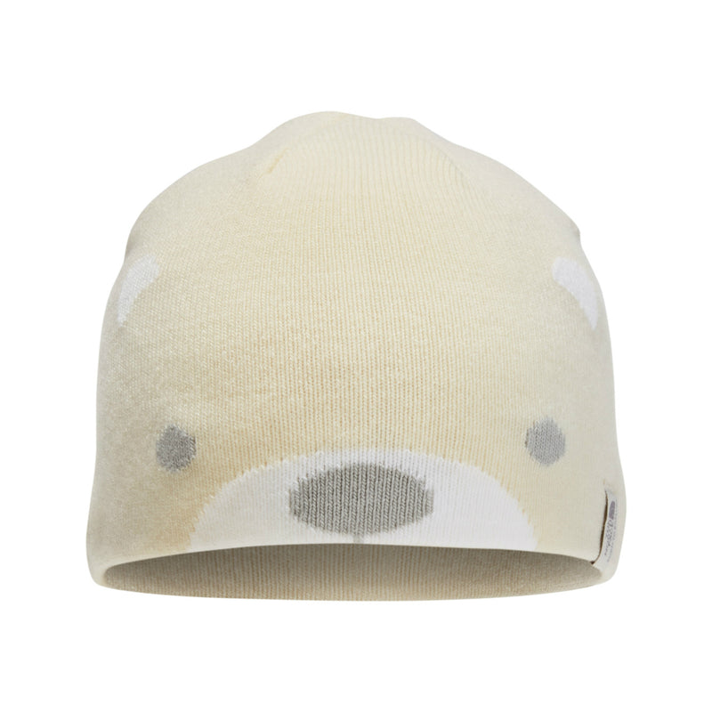 The North Face Vintage White Baby Friendly Face Beanie
