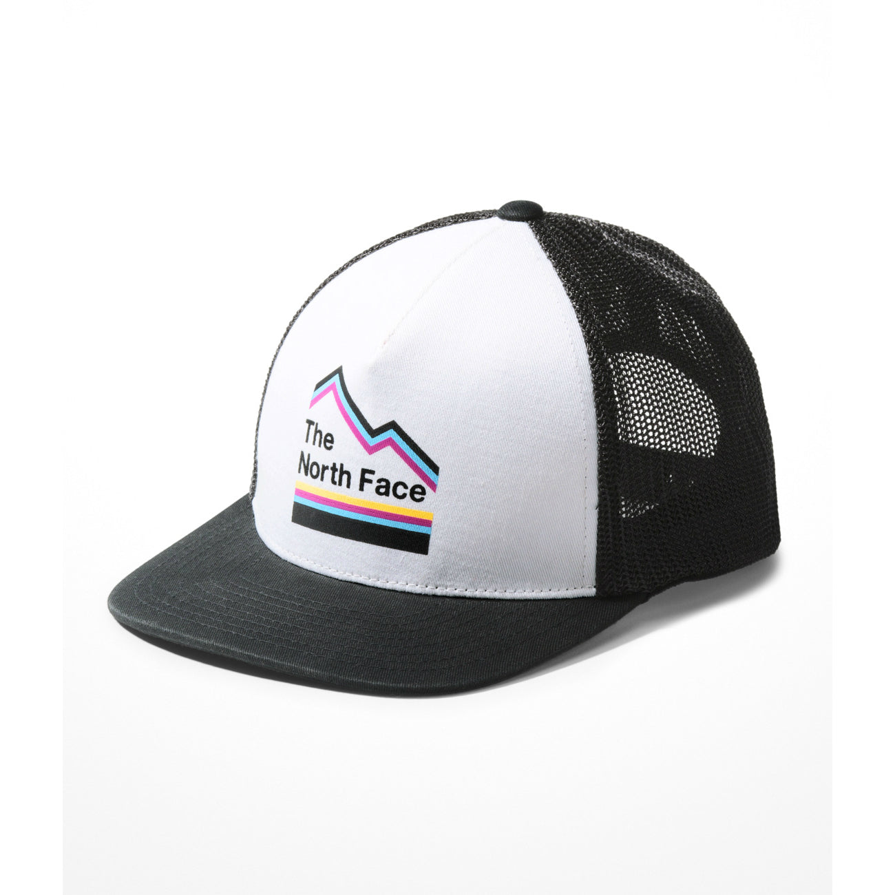 The North Face TNF White Multi Keep It Structured Trucker Hat
