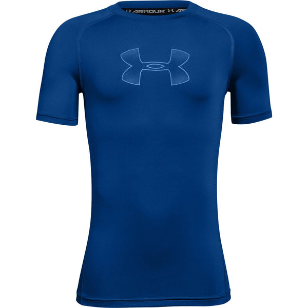Under Armour Royal S/S Fitted Tee