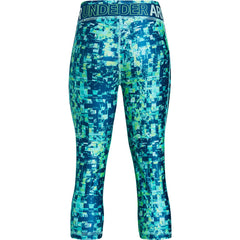 Under Armour Tropical Tide/Arena Green Heatgear Armour Capri