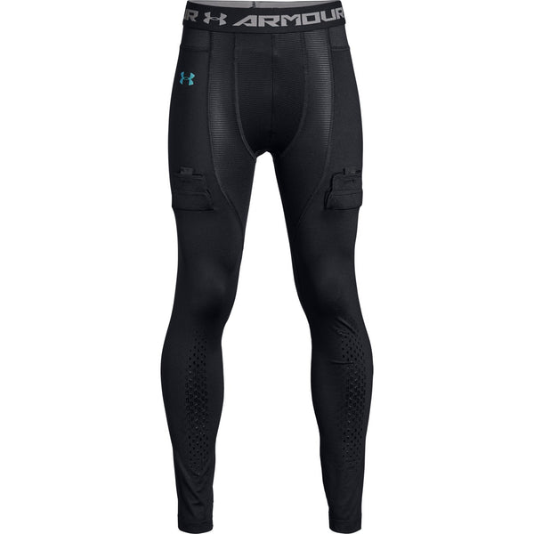 Under Armour Black/Iridescent Foil Hockey Fitted Legging