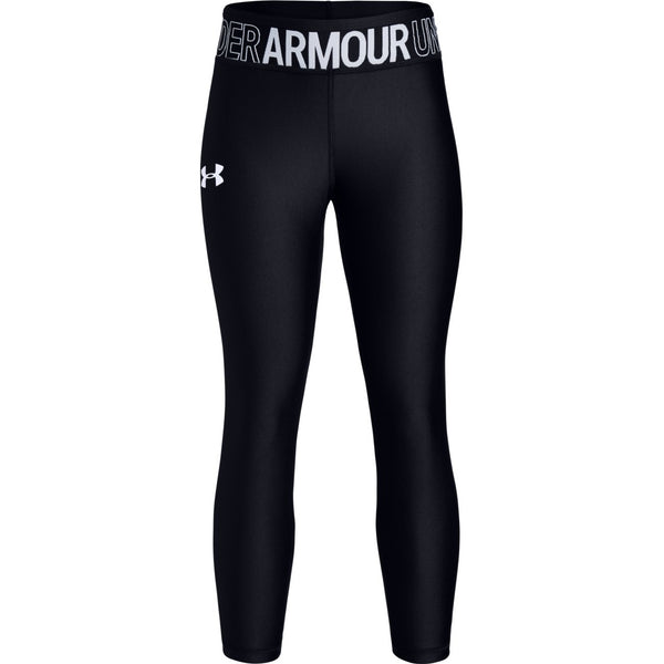 Under Armour Black HeatGear Ankle Crop