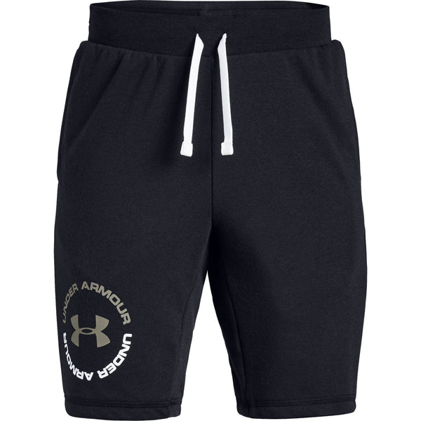 Under Armour Youth Black Rival Terry Short
