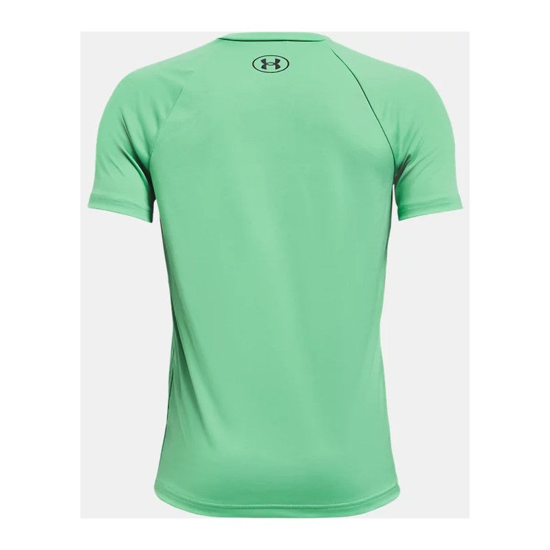 Under Armour Matcha Green/Pitch Grey Tech Big Logo S/S Tee