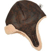 Puffin Gear Brown Child Pilot Helmet