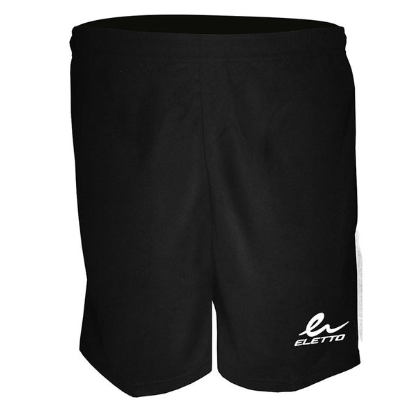 Eletto Black Athens Jr. Shorts