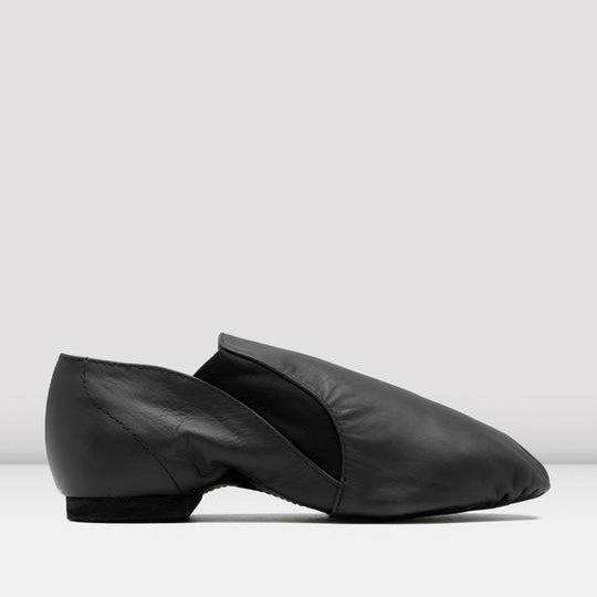Bloch Mens Black Elasta Jazz Booties