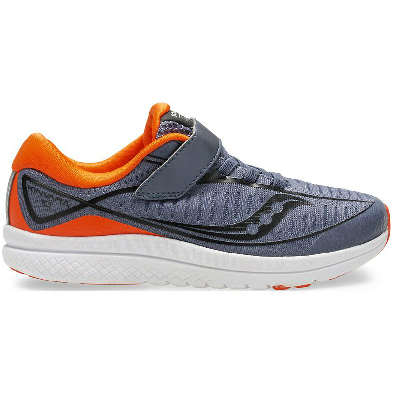 Saucony Grey/Orange Kinvara 10 A/C Children's Sneaker