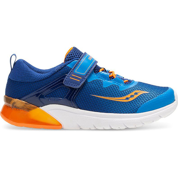 Saucony Blue/Orange Flash Glow A/C Sneaker
