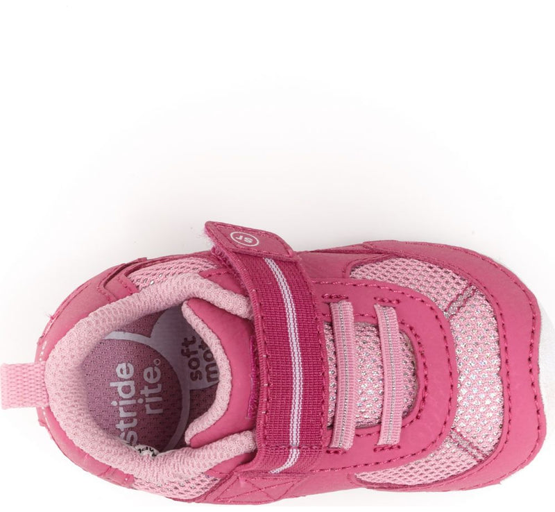 Stride Rite Soft Motion Pink Jamie Baby/Toddler Shoe