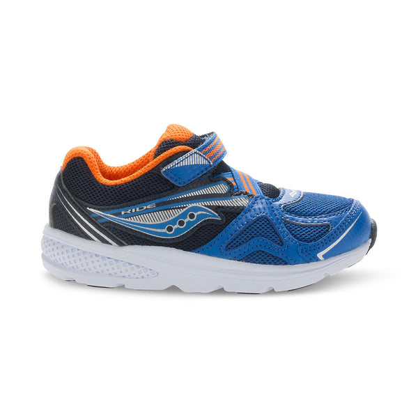 Saucony Blue/Orange Baby Ride Sneaker