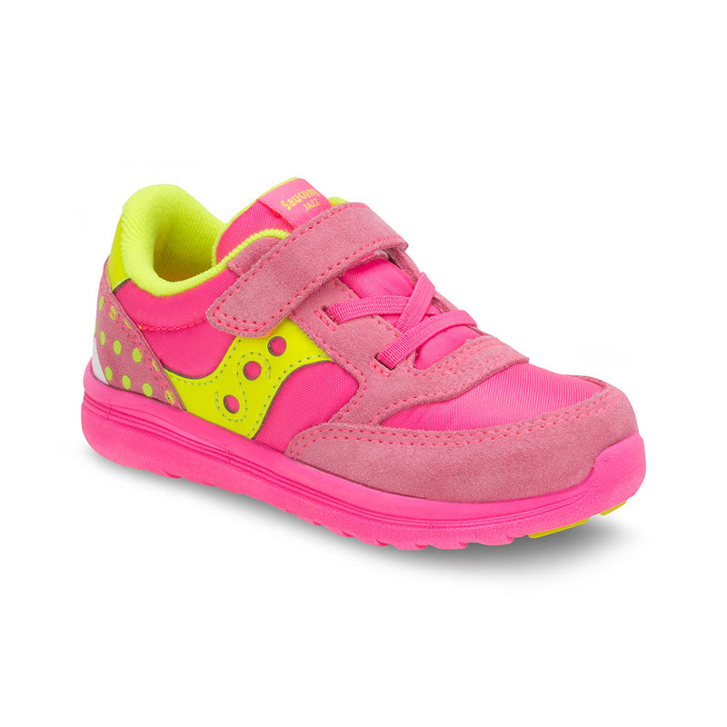 Saucony Pink Monster Baby Jazz Lite A/C Toddler Sneaker