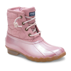 Sperry Pearlized Blush Saltwater Boot
