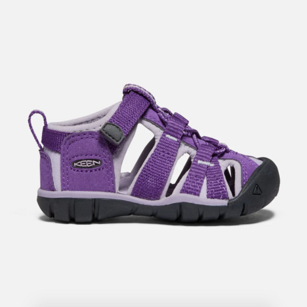 Keen Royal Purple/Lavender Grey Seacamp II CNX Toddler Sandal