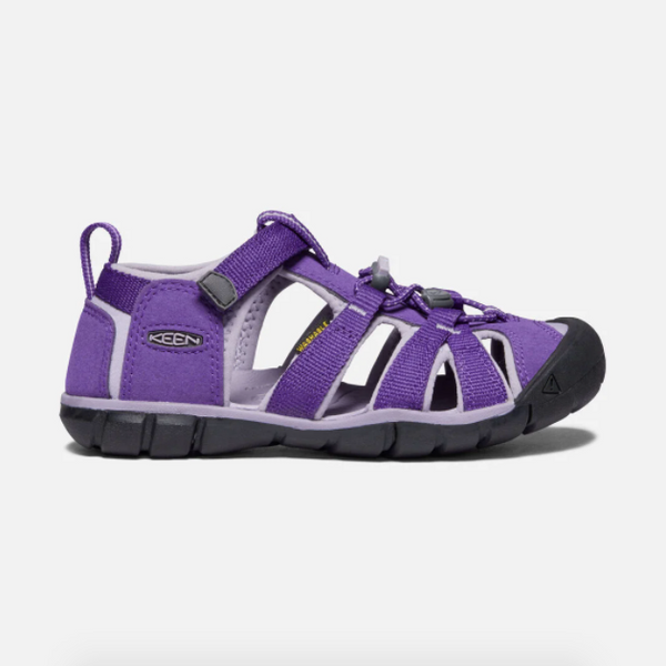 Keen Royal Purple/Lavender Grey Seacamp II CNX Little Kid Sandal